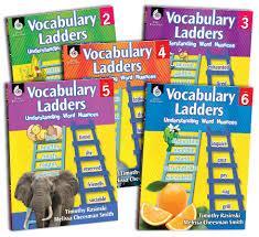 vocabulary ladders teachers classroom resources
