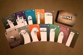 Card Game Design Colossal Arena Image Boardgamegeek Cool Playing Cards And