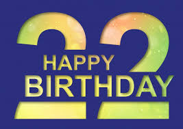 22 years happy birthday cards send real postcards online