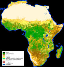 africa map high resolution high resolution land cover map of africa by esa view the