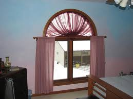 Curtains For Windows With Arches Arched Curtain Rod For Windows The Homy Design