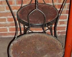 Copper Bistro Chair Metal Bistro Chair Etsy