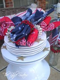 Picnic Decorations 4th Of July Decorations And Picnic Basket The Style Sisters