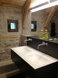 bathroom luxurious modern minimalist interior design glass shower