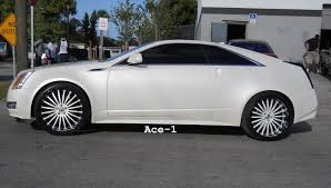 cadillac cts coupe rims ace 1 2011 cadillac cts coupe on 22 asantis