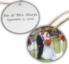 custom photo ornaments invitation template