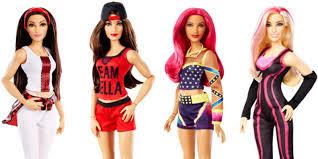 mattel and wwe launch wrestling barbie dolls self