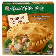 turkey pot pie callender s