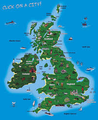 Shetland Islands Map Detailed Tourist Map Of United Kingdom United Kingdom Detailed