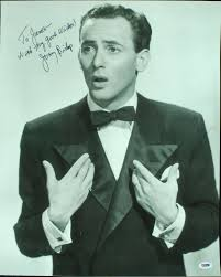item detail joey bishop signed 16x20 photo