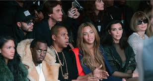 Kanye And Jay Z Meme - 9 jay z cassie diddy beyonce kim kardashian and anna wintour at