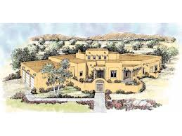adobe style house plans eplans adobe house plan southwestern interpretation 2966