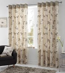 annabella eyelet curtains in natural free uk delivery terrys