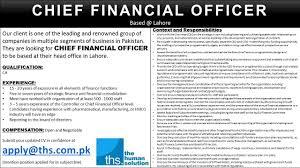sample cfo resume cfo sample resume chief financial sales intern resume cfo sample resume chief financial latest jobs and vacancies chief financial officer cfo jobs lahore pakistan
