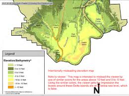 World Elevation Map by Elevation Maps Of The Sacramento San Joaquin Delta Region
