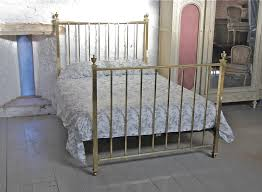 Brass Double Bed Frame Original Edwardian Simple All Brass Double Bed 260000