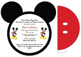 mickey mouse free invitation printable invitation kits
