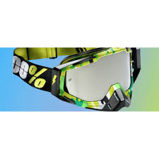 100 percent motocross goggles 100 motocross goggle racecraft bootcamp mirror mxweiss