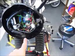 1977 bmw r100rs wiring harness routing youtube