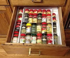 kitchen drawer spice rack rigoro us