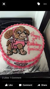 pink paw patrol birthday cake customized birthday u0027s