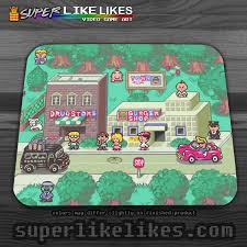 earthbound town mousepad zoom