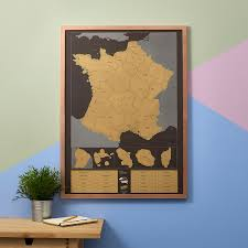 Map France by Scratch Map France