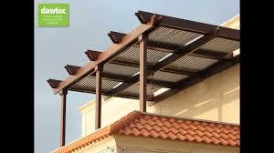 Pergola System by Dawtec Corporate Video Solar Pergola System Youtube