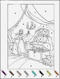 coloriage magique d u0027un bonhomme de neige qui chante avec les