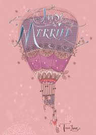 just married cards just married hot air balloon wedding card karenza paperie