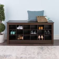 peaceful design entryway bench with shoe storage contemporary