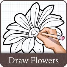 how to draw flower design android apps on play