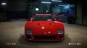 need for speed 2015 ferrari f40 1987 test drive gameplay