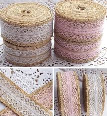 wholesale burlap ribbon best wholesale vintage burlap ribbon home crafts jute lace wedding