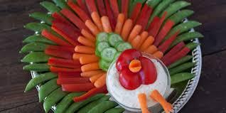 thanksgiving turkey veggie tray recipe genius kitchen