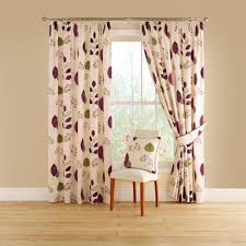 Aubergine Curtains Buy Montgomery Cleo Aubergine Lined Pencil Pleat Curtains 168cm