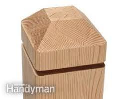 Decorative Wood Post Making Deck Posts Family Handyman