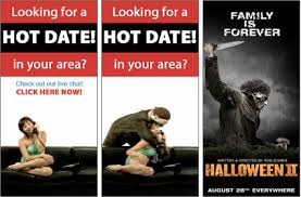 Halloween 2 U0027 Butchers The Worst Banner Ads U2013 Adweek