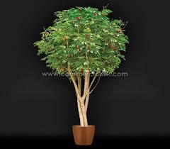 decorative faux citrus trees orange tree lemon tree
