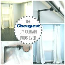 Ideas For Hanging Curtain Rod Design Hang Curtain Rods No Screws Ideas For Hanging Rod Design