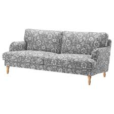 Uncomfortable Couch Stocksund Sofa Nolhaga Dark Gray Black Ikea