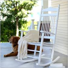 white outdoor rocking chair outdoor white wooden rocking chair