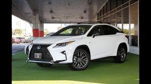 lexus rx 350 intuitive parking assist 2017 lexus rx 350 f sport awd youtube