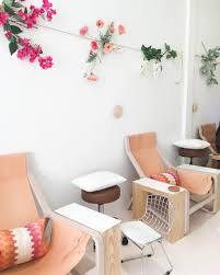 nail salon spa interiors hospitality design