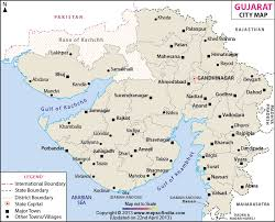 cities map cities in gujarat gujarat cities map