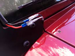 jeep wrangler light switch raxiom wrangler jk light bar installation wiring the harness
