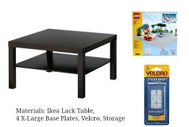 ikea lack tables how to make your own lego table bumblebee linens