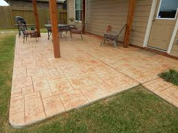 Pea Gravel Concrete Patio by Driveways Patios Walkways And Decorative Concrete