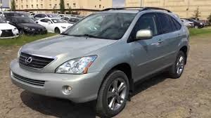 2008 lexus hybrid suv for sale pre owned 2007 gold lexus rx 400h awd hybrid indepth review st