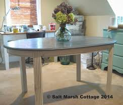 salt marsh cottage ballard messina table knock off revealed